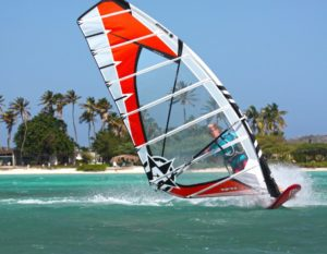 Attitude sail og Unifiber gear windsurf og sup